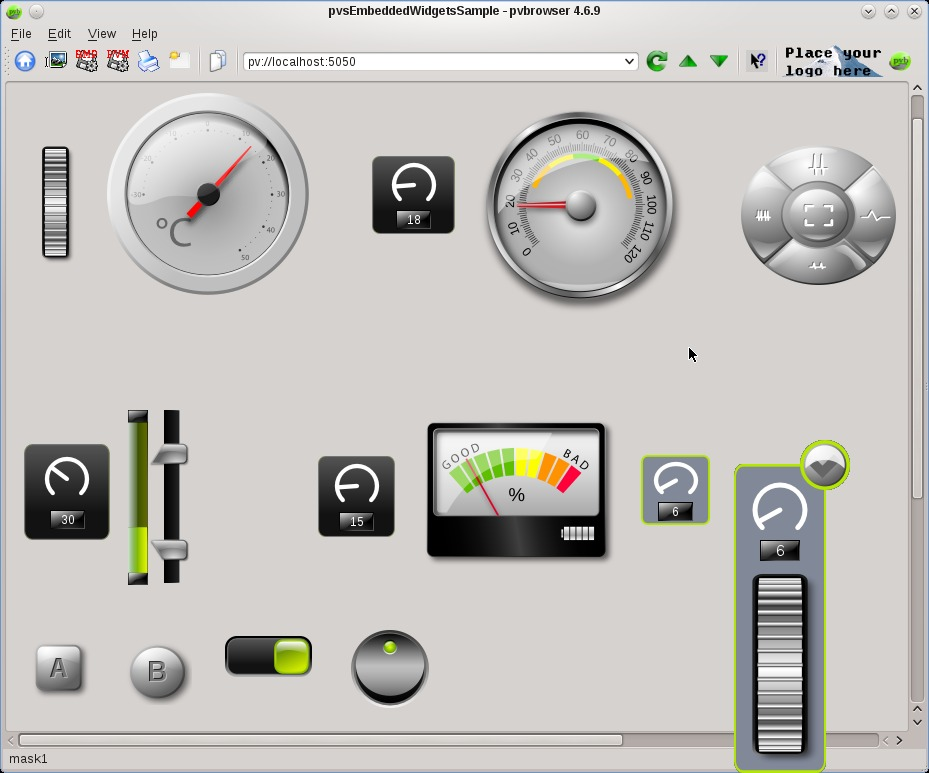 pvbrowser – The Process Visualization Browser  HMI and Scada